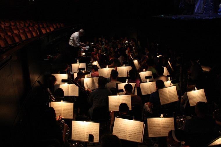 The CCM Philharmonia Orchestra. Photography by Jing Huan.