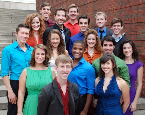 The Musical Theatre Class of 2011 at CCM.