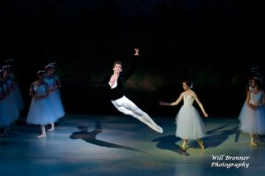 """Kyle Coleman as Albrecht in CCM's production of """"Giselle."""""""