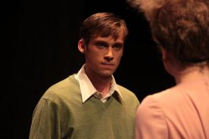 Ty Olwin in CCM's production of 'Coram Boy.'