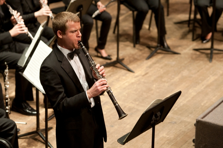 CCM's Wind Symphony. Image by UC Photographic Services.