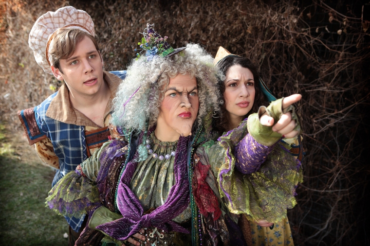Chris Blem, Victoria Cook and Michelle Rombola in CCM's Mainstage Production of 'Into the Woods.' Photography by Mark Lyons.