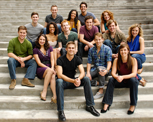 CCM Musical Theatre's Class of 2012.