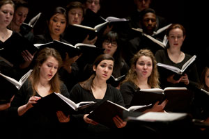The CCM Chorale.
