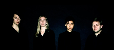 The Cincinnati-based new music project Makr, comprised of current and former CCM students Suzanna Barnes, Brodie Johnson, Eddy Kwon and Josh Ulrich.