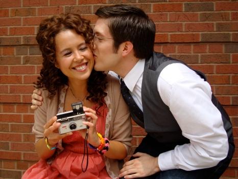 "Emma Char as Angelina (""Cenerentola"") and Ian José Ramirez as Prince Ramiro in CCM's production of 'La Cenerentola.'"