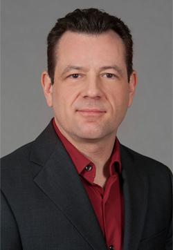 Assistant Professor of E-Media Peter DePietro.