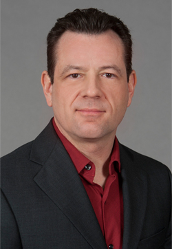 Assistant Professor of E-Media Peter DePietro.