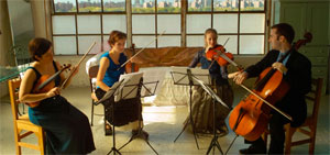 The Momenta Quartet, Accent12's Ensemble in Residence.