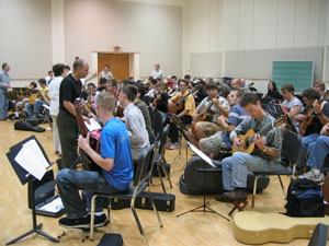 CCM's Classical Guitar Workshop