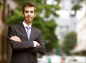 CCM alumnus Spencer Utt.
