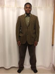 Sophomore Trey Wright plays Nick Bottom and Pyramus.