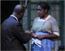 CCM alumna Torie Wiggins in Cincinnati Shakespeare's production of 'To Kill a Mockingbird.'