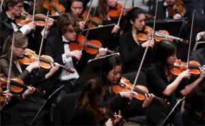 CCM's Concert Orchestra.