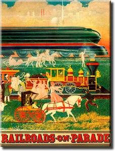 Railroads on Parade Program Cover