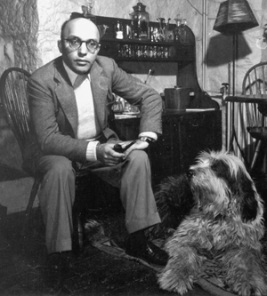 Theatre composer Kurt Weill in New City, ca. 1945 (photo: Engel). Image courtesy of the Kurt Weill Foundation for Music.
