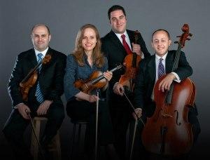 The Amernet String Quartet performs at 8 p.m. tonight, Nov. 13.
