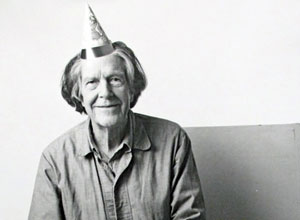 American composer John Cage (1912–92)