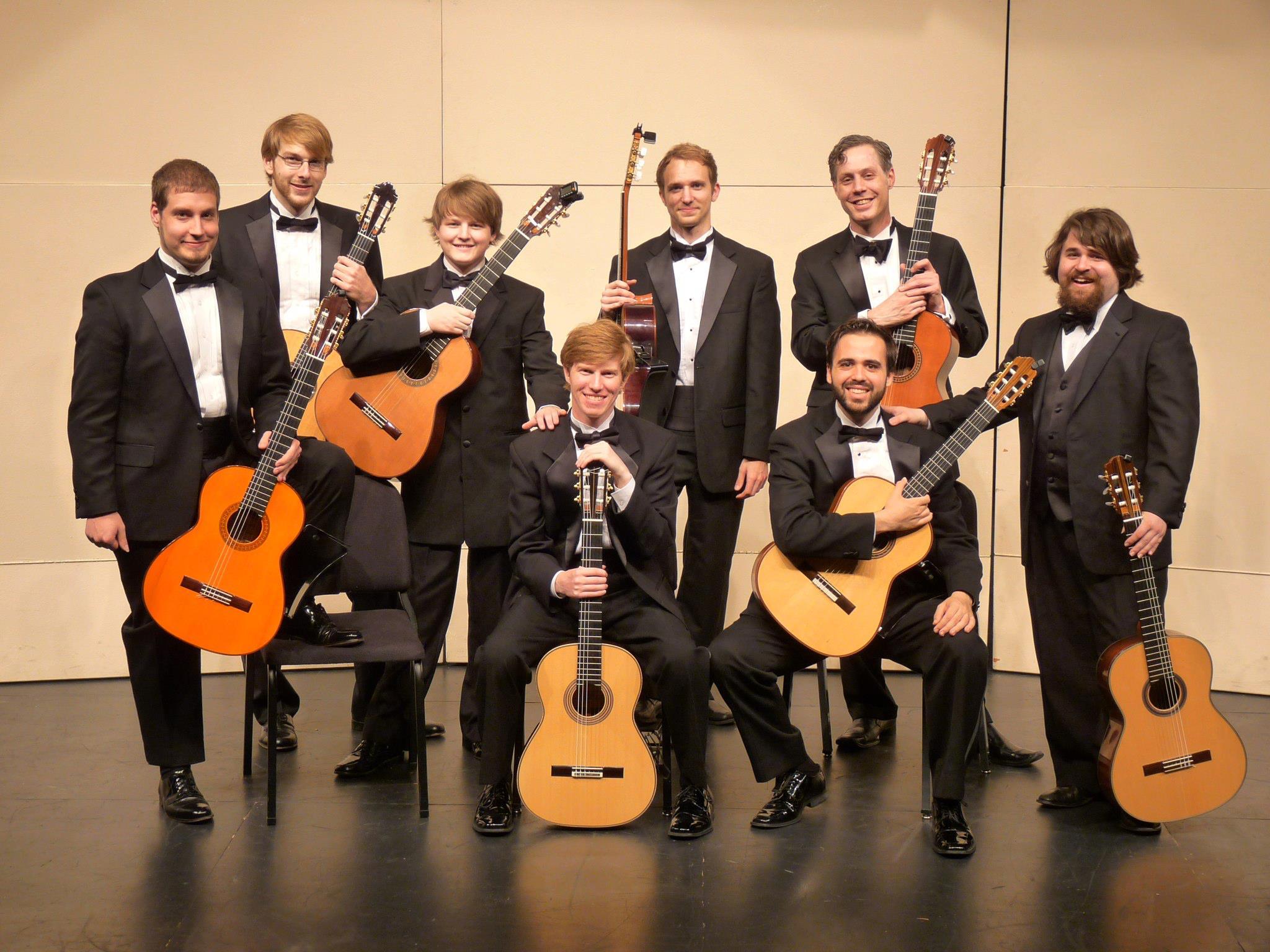 CCM's Classical Guitar Ensemble (2011).