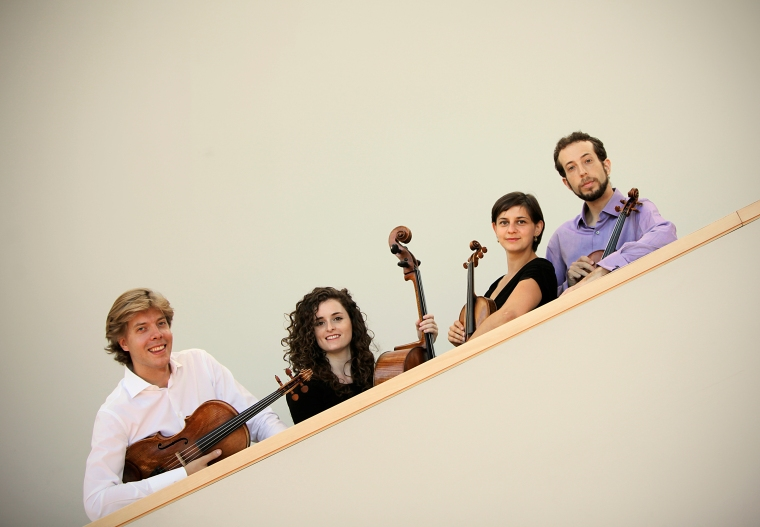 The Ariel String Quartet at CCM. Courtesy of The Enquirer/ Liz Dufour