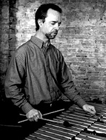CCM Steel Drum Band director Russell Burge.