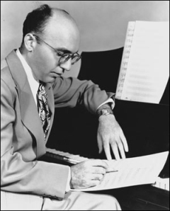 Celebrated music theatre composer Kurt Weill.