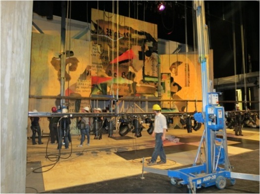 Assistant to the Scenic Designer Alexandra Kuntz provides these previews of 'The Threepenny Opera.'