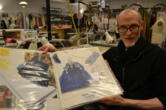 Dean Mogle shares the original costume rendering for the Queen of the Night.
