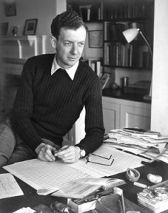 'Spring Symphony' composer Benjamin Britten, circa 1949. Photography by Roland Haupt; courtesy of www.britten100.org.