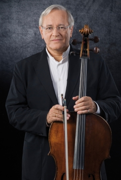 Distinguished international guest artist David Geringas, cello, joins the Ariel Quartet in concert on Tuesday, April 9, 2013.