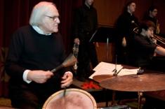 Cincinnati jazz icon John Von Ohlen and the CCM Jazz Ensemble. Photography by Dottie Stover.