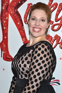 "Tory Ross on opening night of ""Kinky Boots"""