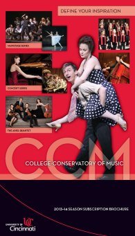 CCM's 2013-14 Season Brochure.