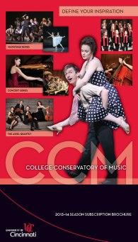 CCM's 2013-14 Season Brochure.
