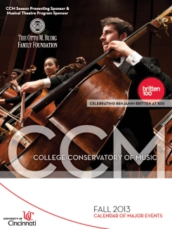 Download a copy of CCM's Fall 2013 Calendar Booklet today!