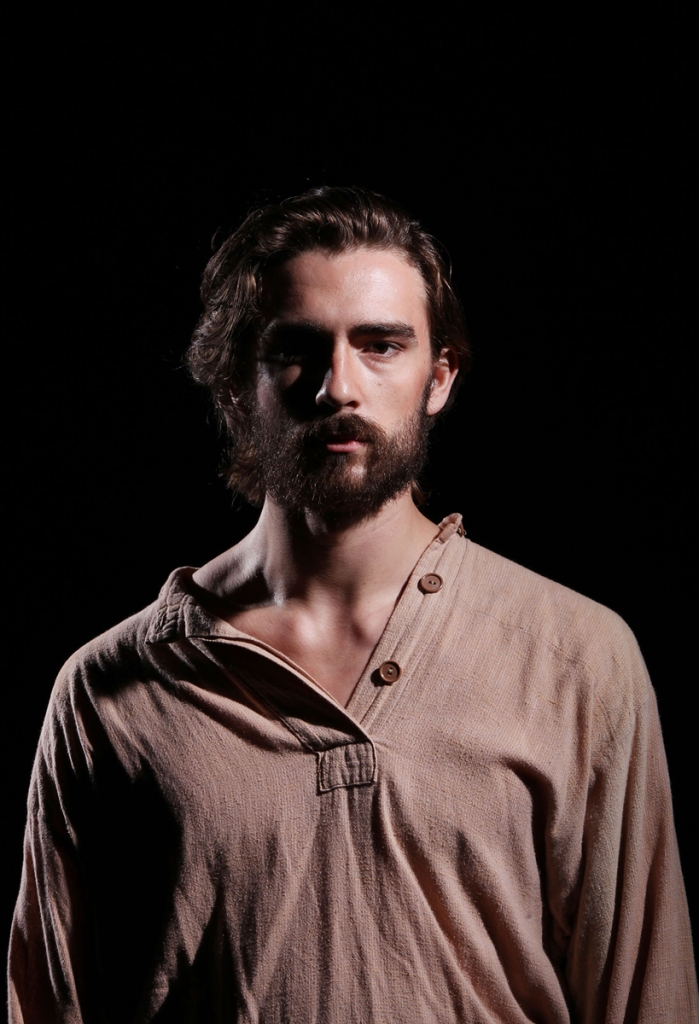Joe Markesbery is John Proctor in CCM's production of Arthur Miller's THE CRUCIBLE. Photography by Mark Lyons.