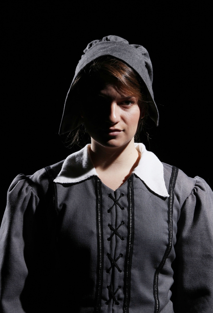 Laura McCarthy is Abigail Williams in CCM's powerful new production of Arthur Miller's Tony Award-winning classic THE CRUCIBLE. Photography by Mark Lyons.