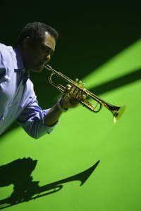 Acclaimed jazz trumpet player Jon Faddis.