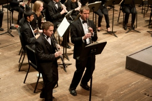 CCM's Wind Orchestra. Photography by Dottie Stover.