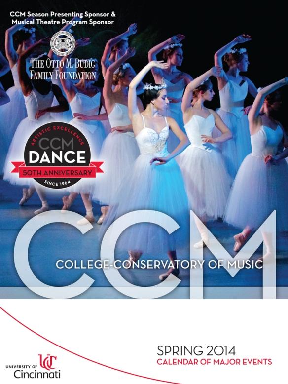Download CCM's Spring 2014 Calendar Booklet today.