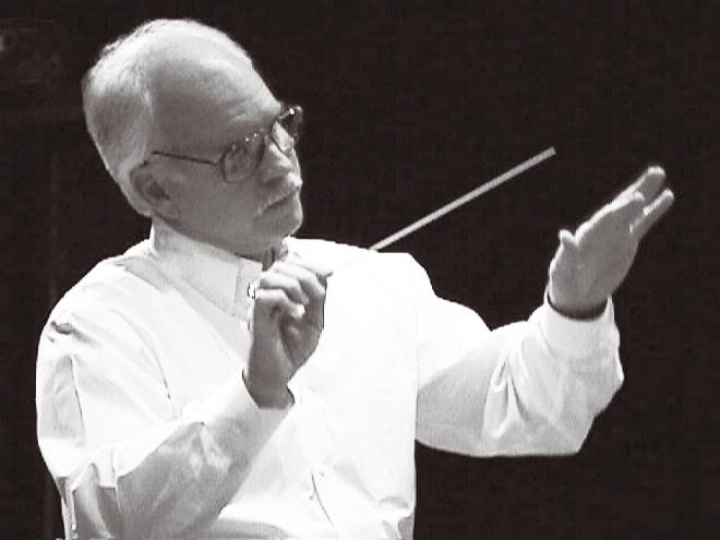 "Cincinnati Junior Strings founding maestro Gerald ""Gerry"" Doan."