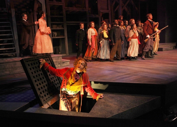 "CCM proudly presents a new production of the iconic musical ""Les Misérables,"" playing Feb. 27 - March 9, 2014. Photography by Mark Lyons."