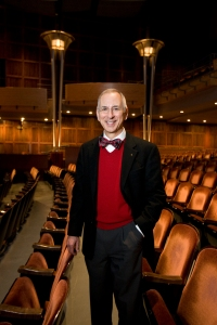 CCM Professor Terence Milligan will take the Corbett Auditorium podium for a special farewell concert on April 5. Photography by Lisa Ventre.