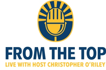 The logo for NPR's 'From the Top with Host Christopher O'Riley.'