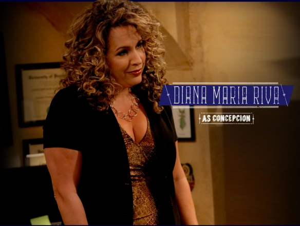 CCM alumna Diana Maria Riva on television's 'Saint George.' Photo courtesy of FX.