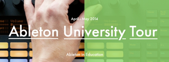 Ableton University Tour