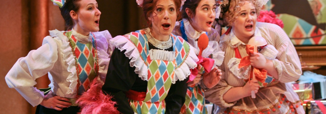 Cherished by music-lovers since its 1843 premiere, DON PASQUALE will delight audiences of all ages. Mark Gibson conducts this beloved opera buffa, with stage direction by Omer Ben-Seadia. Photography by Mark Lyons.