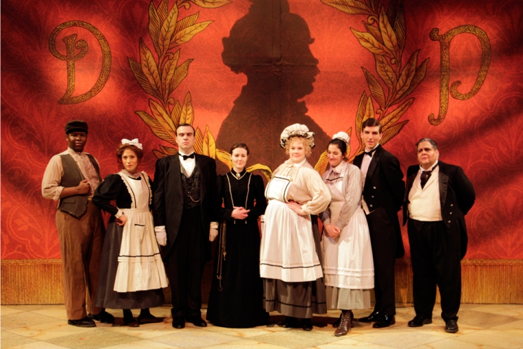 Don Pasquale's house staff. Photography by Tom Umfrid.