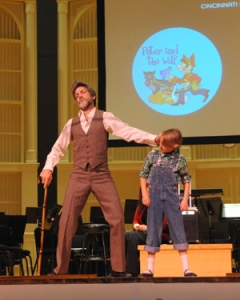 The CCM Youth Ballet Company performed 'Peter and the Wolf' at Music Hall with the Cincinnati Symphony Orchestra earlier this season.