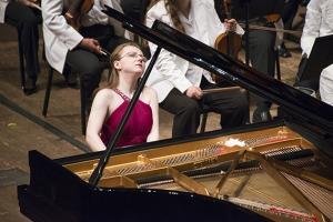 Marianna Prjevalskaya, 2013 World Piano Competition Gold Medalist. Photography by David Rafie.